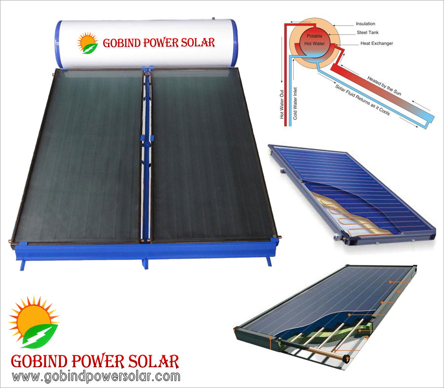 solar water heater Flat Plate Collector (FPC) suppliers in ludhiana punjab